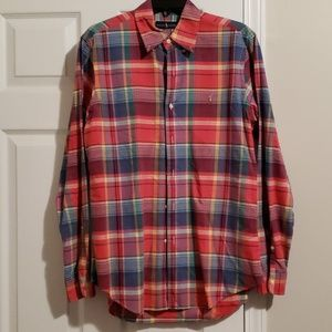Polo by Ralph Lauren Shirts - MEN'S PLAID POLO SHIRT
